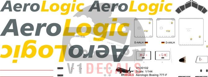 Aerologic -Boeing 777-200 Decal
