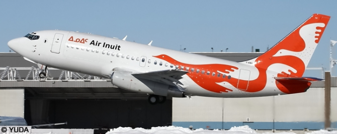 Air Inuit --Boeing 737-200 Decal