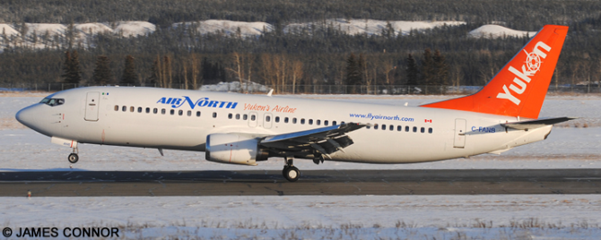 Air North -Boeing 737-400 Decal