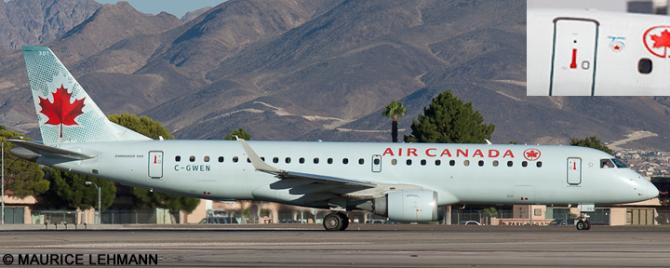 Air Canada Embraer E190 Decal