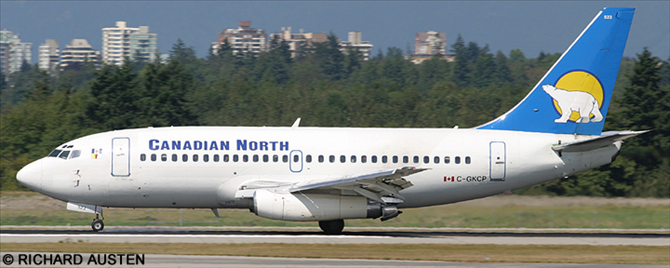 Canadian North -Boeing 737-200 Decal
