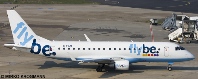 Flybe Embraer --Embraer E175 Decal