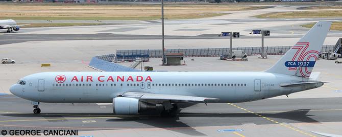 Air Canada -Boeing 767-300 Decal
