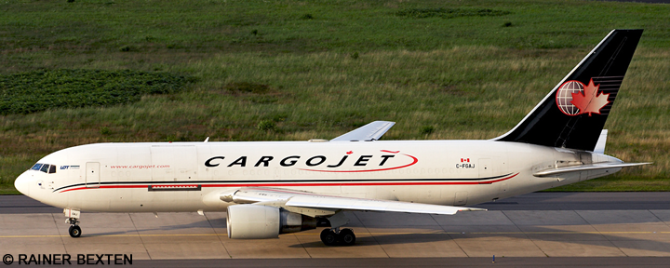 Cargojet -Boeing 767-200 Decal