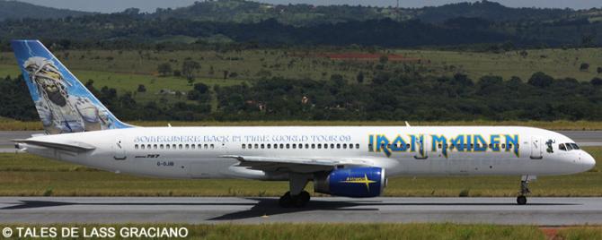 Iron Maiden -Boeing 757-200 Decal