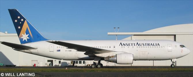 Ansett Australia -Boeing 767-200 Decal