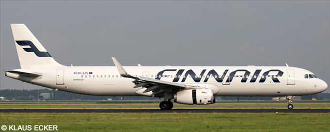 Finnair Airbus A321 Decal