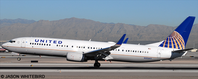 United Airlines Boeing 737 900 V1 Decals