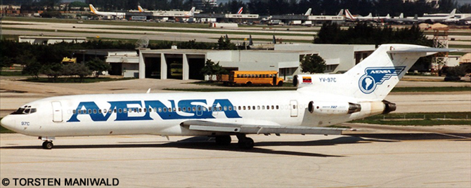 Avensa -Boeing 727-200 Decal