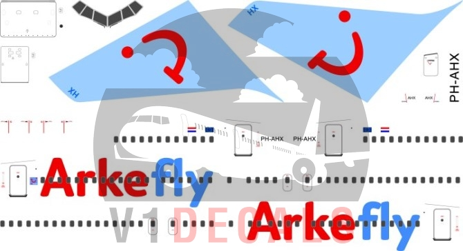 Arkefly -Boeing 767-300 Decal