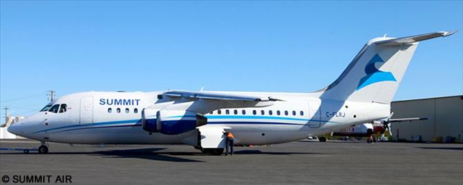 Summit Air -BAe Avro RJ-85 Decal