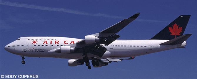 Air Canada -Boeing 747-400 Decal
