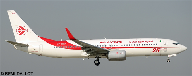 Air Algerie -Boeing 737-800 Decal