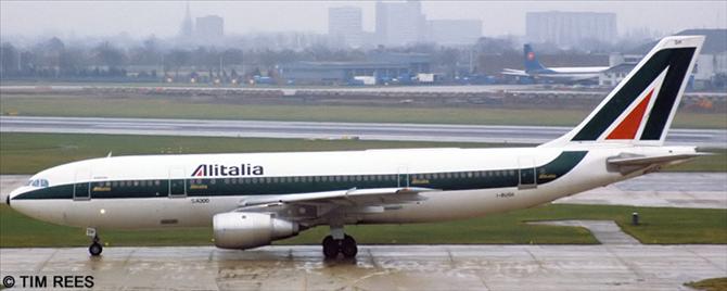 Alitalia -Airbus A300B4 Decal