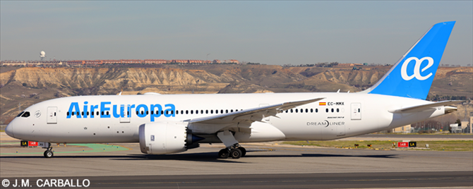 Air Europa -Boeing 787-8 Decal
