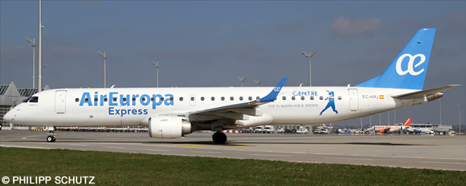 Air Europa Express -Embraer E195 Decal