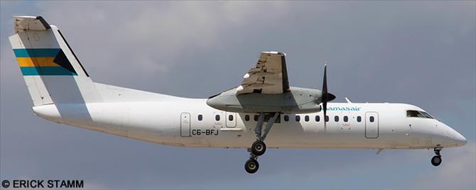 Bahamasair -DeHavilland Dash 8-300 Decal