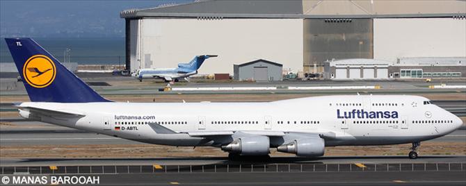 Lufthansa -Boeing 747-400 Decal