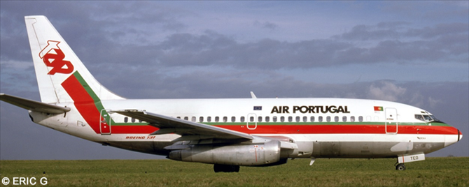 TAP Portugal -Boeing 737-200 Decal