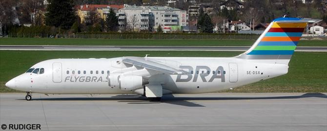 BRA Braathens Regional Airlines -BAe Avro RJ-100 Decal