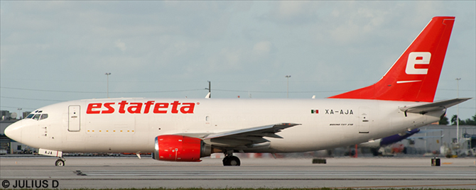 Estafeta -Boeing 737-300 Decal