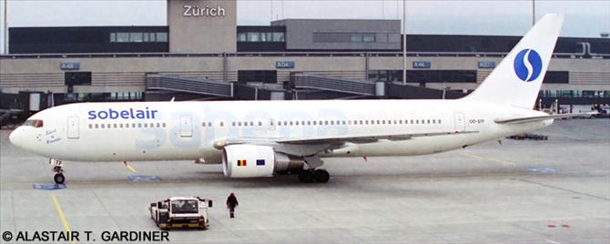 Sobelair, Sabena -Boeing 767-300 Decal