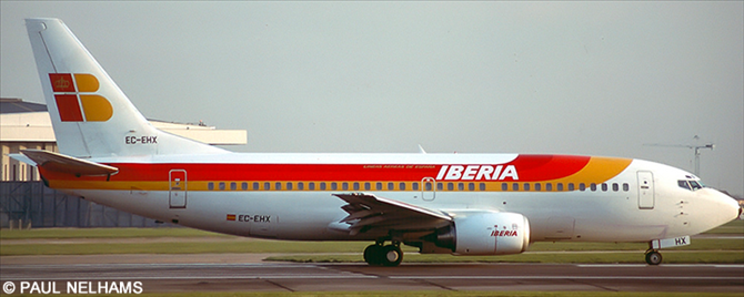 Iberia -Boeing 737-300 Decal