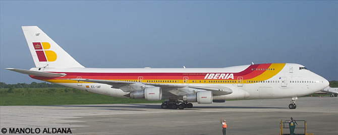 Iberia -Boeing 747-200 Decal