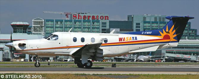 Wasaya Airways Pilatus PC-12 Decal