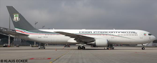 Ceiba Intercontinental -Boeing 767-300 Decal
