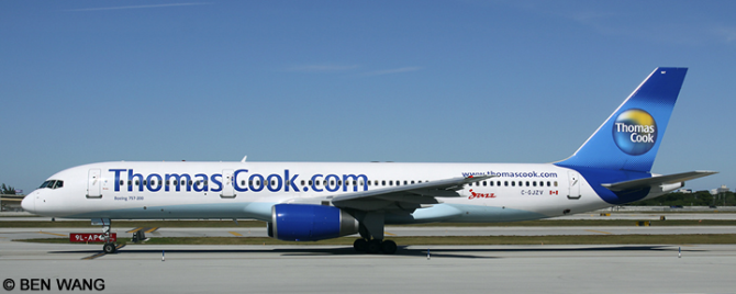 Air Canada Jazz, Thomas Cook -Boeing 757-200 Decal