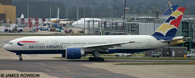 British Airways -Boeing 777-200 Decal