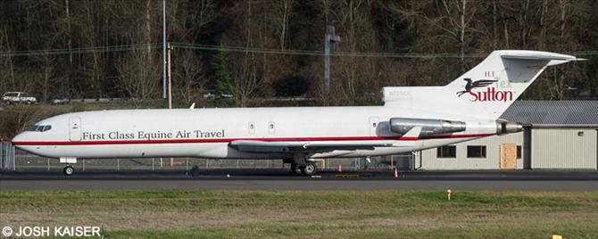 Tex Sutton, Kalitta Air -Boeing 727-200 Decal