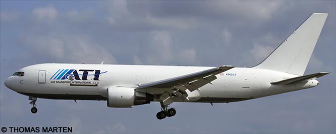 ATI Air Transport International -Boeing 767-200 Decal