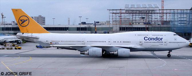 Condor -Boeing 747-400 Decal