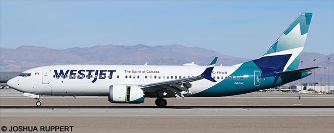 Westjet -Boeing 737-8 MAX Decal