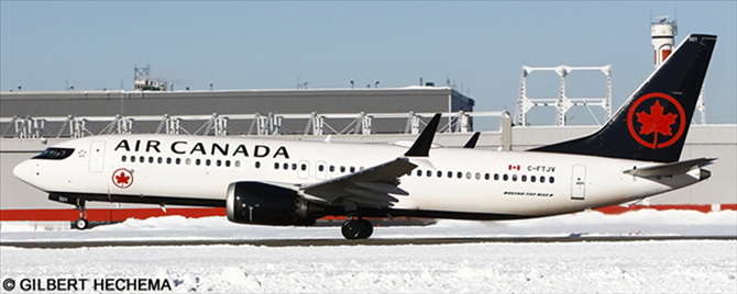 Air Canada -Boeing 737-8 MAX Decal