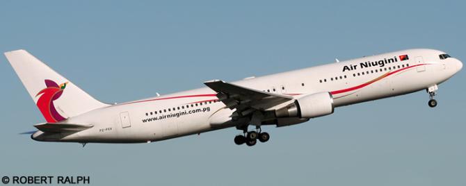 Air Niugini -Boeing 767-300 Decal