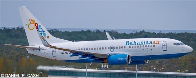 Bahamasair -Boeing 737-700 Decal