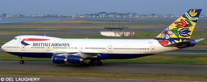 British Airways -Boeing 747-200 Decal