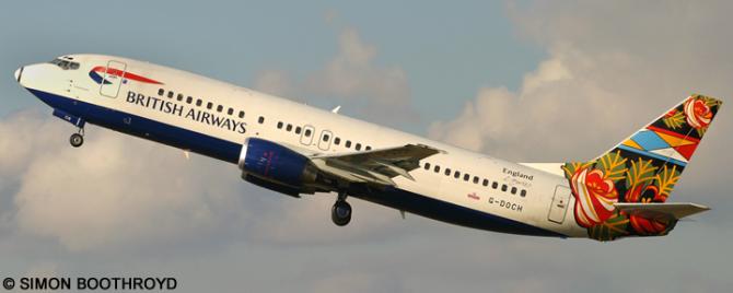 British Airways -Boeing 737-400 Decal