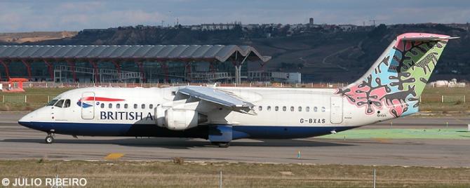 British Airways -BAe 146-300 - Avro RJ-100 Decal