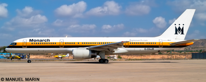 Monarch Airlines -Boeing 757-200 Decal
