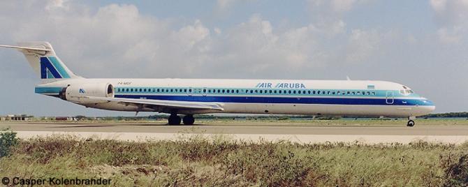 Air Aruba McDonnell Douglas MD-90 Decal