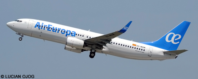 Air Europa -Boeing 737-800 Decal