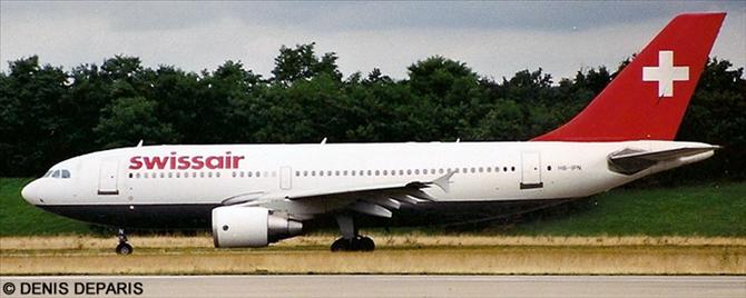 Swissair Airbus A310-300 Decal