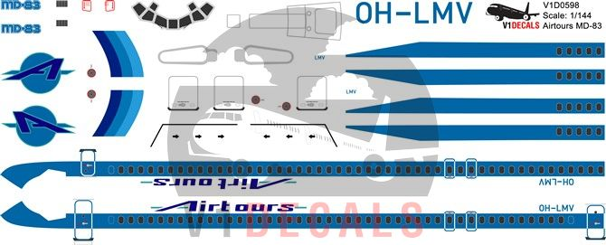 Airtours International, Finnair McDonnell Douglas MD-80 Decal