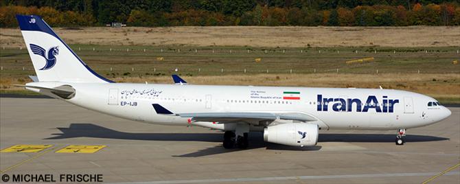 Iran Air Airbus A330-200 Decal