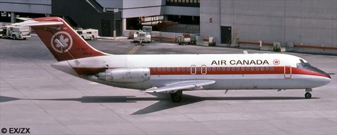 Air Canada McDonnell Douglas DC-9 Decal