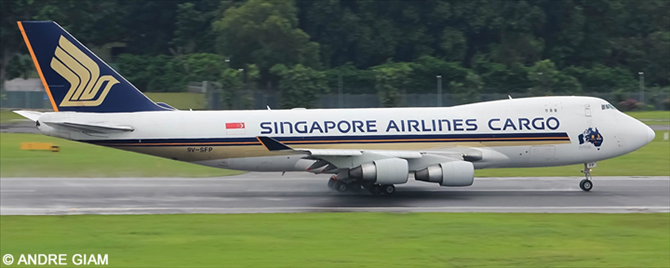 Singapore Airlines, Singapore Airlines Cargo Boeing 747-400 Decal
